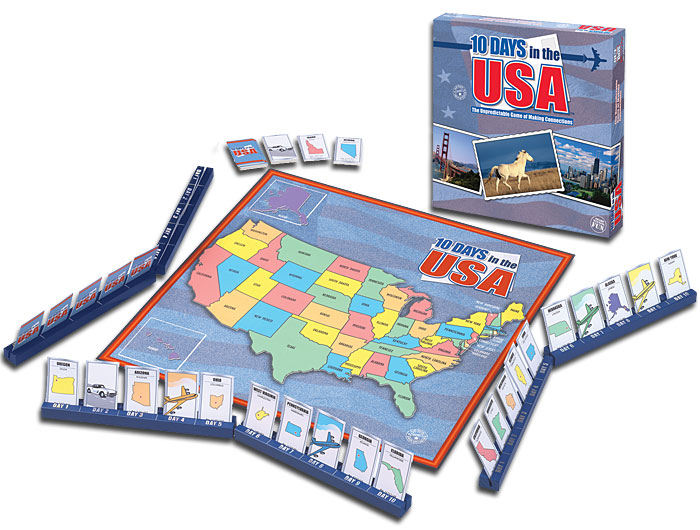 10 Days in the USA by Out of the Box Publishing