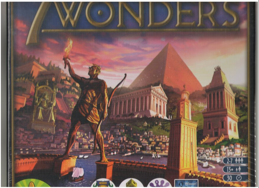 7 Wonders by Asmodee Editions