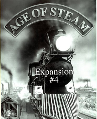Age of Steam Expansion # 4 (France & Italy) by Cafe Games Limited   /  Warfrog