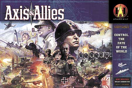 Axis and Allies - Revised Edition by Avalon Hill