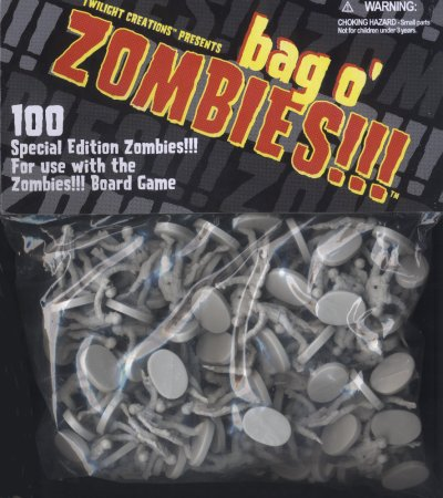 Zombies!!! Bag O' Zombies (Non-glowing) by Twilight Creations, Inc.