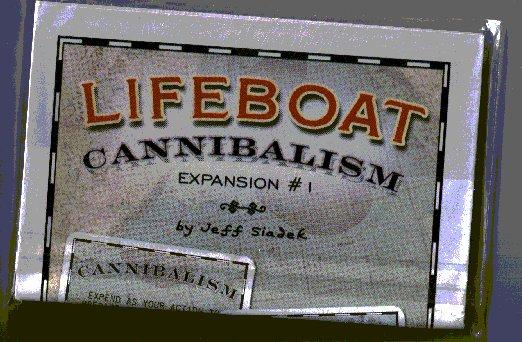 Lifeboat 3E: Cannibalism expansion by Gorilla Games