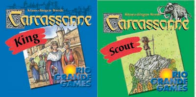 Carcassonne: King & Scout by Rio Grande Games