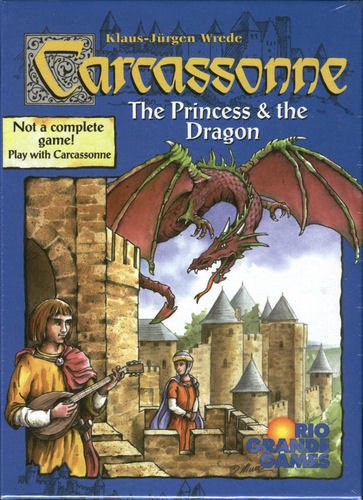 Carcassonne: The Princess & the Dragon by Rio Grande Games
