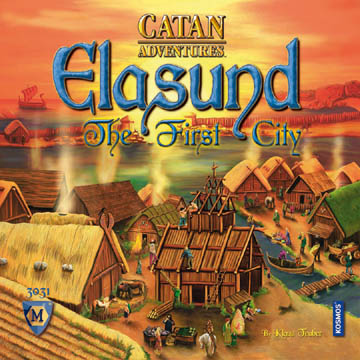 Settlers of Catan: Elasund - First City of Catan (Elasund: Die erste Stadt) by Mayfair Games