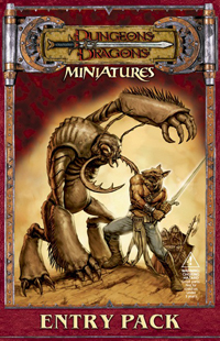 Dungeons & Dragons Miniatures - Entry Pack by Wizards of the Coast