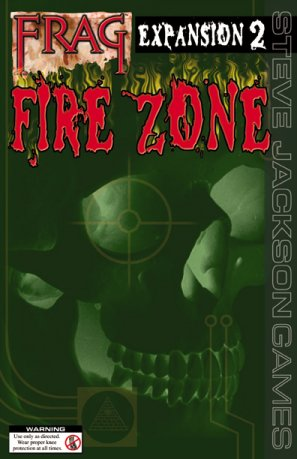 Frag Expansion 2 Fire Zone by Steve Jackson Games