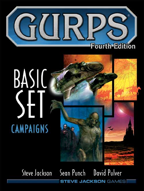 Gurps 4th Edition Basic Set Volume 2 - Campaigns by Steve Jackson Games