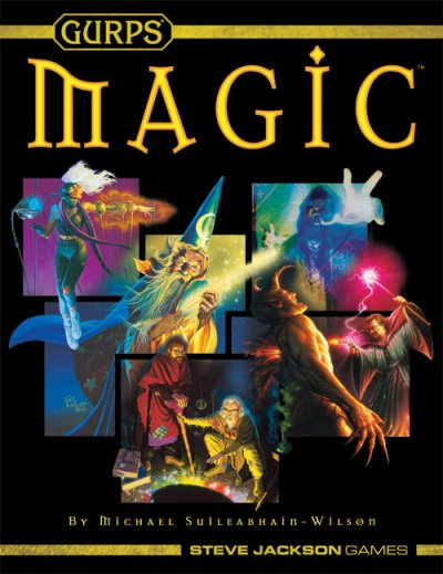 Gurps: Magic 4th Edition (Revised) : softcover by Steve Jackson Games