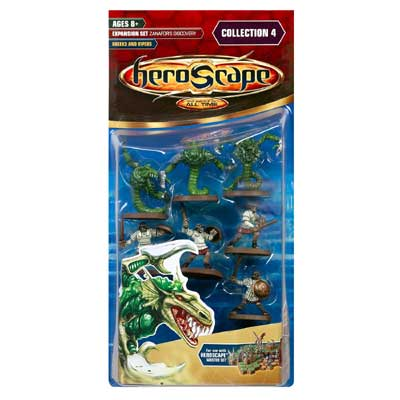 Heroscape Expansion Set - Greeks and Vipers (Zanafor's Discovery)- Wave 4 by Hasbro