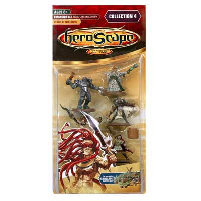 Heroscape Expansion Set - Heroes of Trollsford (Zanafor's Discovery)- Wave 4 by Hasbro