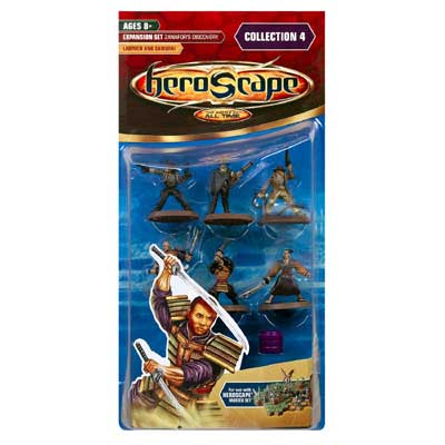 Heroscape Expansion Set - Lawmen and Samurai (Zanafor's Discovery)- Wave 4 by Hasbro