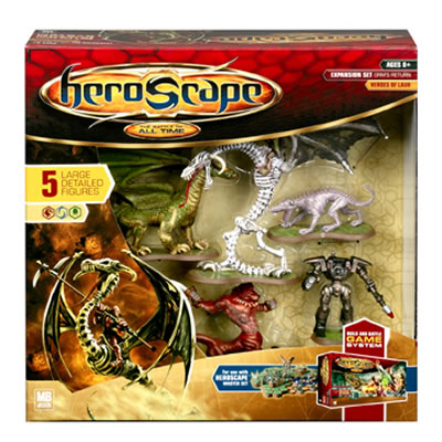 Heroscape - Large Expansion Set - Orm's Return - Heroes of Laur by Hasbro