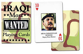 Iraqi Most Wanted Playing Cards by US Games Systems, Inc