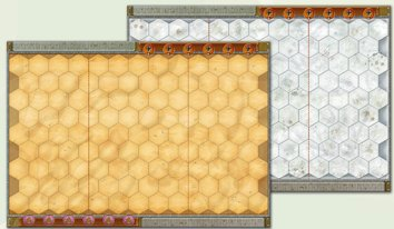 Memoir '44 - Winter/Desert Board Map by Days of Wonder