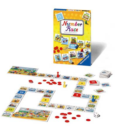 Number Race by Ravensburger