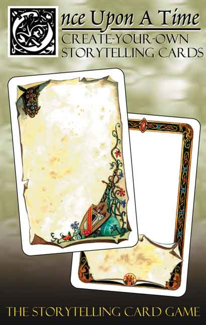 Once Upon a Time: Create Your Own Storytelling Cards (56) by Atlas Games