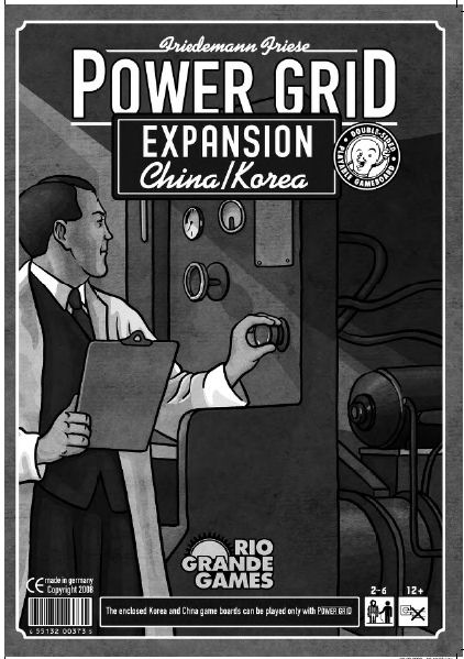 Power Grid Expansion - China & Korea by Rio Grande Games