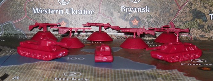 Axis and Allies 2010 Russian Units by Table Tactics
