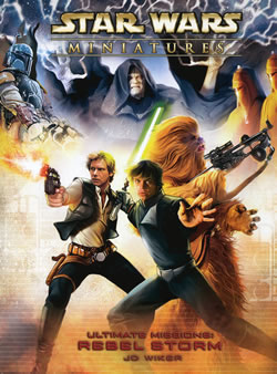 Star Wars CMG: Ultimate Missions - Rebel Storm by TSR Inc.