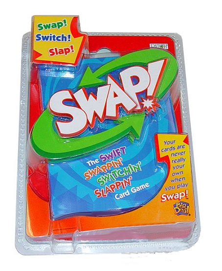 SWAP! Double Deck Card Game by Patch Products