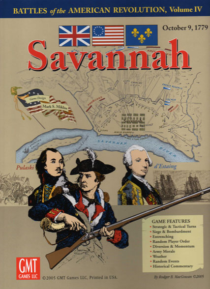 Savannah - American Revolution Series Vol. IV by GMT Games