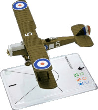 Wings Of War miniatures : De Havilland D.H. 4 (Atkey) by Fantasy Flight Games