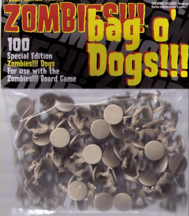 Zombies!!! Bag O' Zombie Dogs by Twilight Creations, Inc