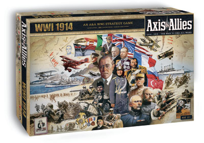 Axis & Allies WWI 1914 by Avalon Hill