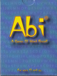 Abi: A Game of Word Recall by