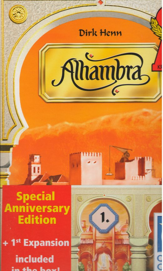 Alhambra Special Anniversary Edition by Queen Games