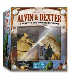 Ticket to Ride: Alvin & Dexter Monster Expansion by Days of Wonder, Inc.