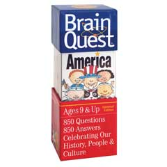 Brain Quest : America : Ages 9 & up by University Games