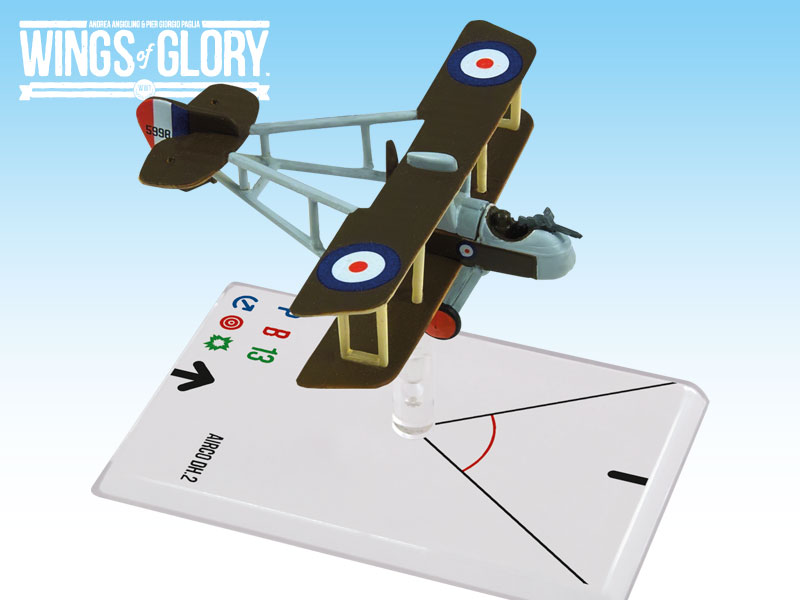 Wings of Glory WWI : Airco DH.2 (Andrews) by Ares Games Srl