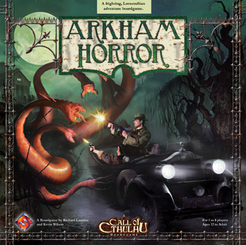 Arkham Horror Board Game by Fantasy Flight Games