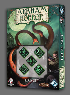 Arkham Horror: Dice Set by Fantasy Flight Games