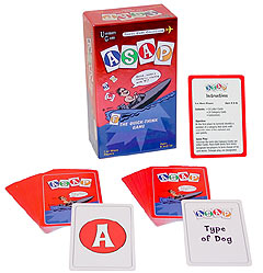 ASAP Card Game by University Games