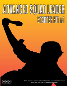 Advanced Squad Leader (ASL) Starter Kit #1 by Multi-Man Publishing (MMP)