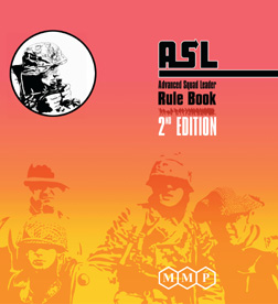 Advanced Squad Leader (ASL) Rulebook 2nd Edition by Multi-Man Publishing