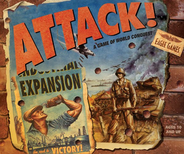 Attack! Expansion by Eagle Games