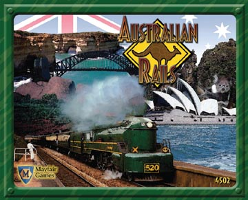 Australian Rails New Revised Edition by Mayfair Games