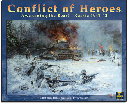 Conflict of Heroes: Awakening the Bear! - Russia 1941-42 by Academy Games  / ElfinWerks, LLC