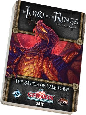 The Lord of the Rings LCG: The Battle of Lake-town Adventure Pack by Fantasy Flight Games