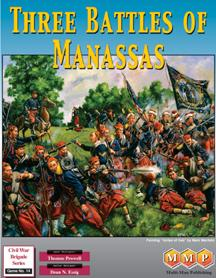 Three Battles of Manassas by Multi-Man Publishing