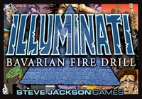 Illuminati: Bavarian Fire Drill by Steve Jackson Games