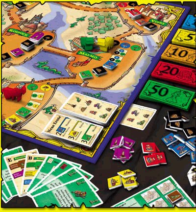 Bean Trader by Rio Grande Games