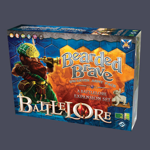 Battlelore: Bearded Brave Expansion by Fantasy Flight Games