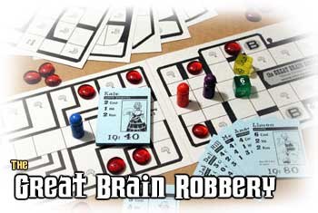 The Great Brain Robbery Box Set by Cheapass Games