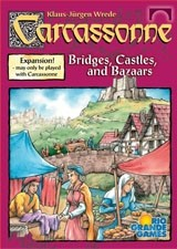 Carcassonne: Bridges, Castles & Bazaars Expansion by Rio Grande Games