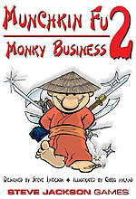 Munchkin Fu 2: Monky Business by Steve Jackson Games